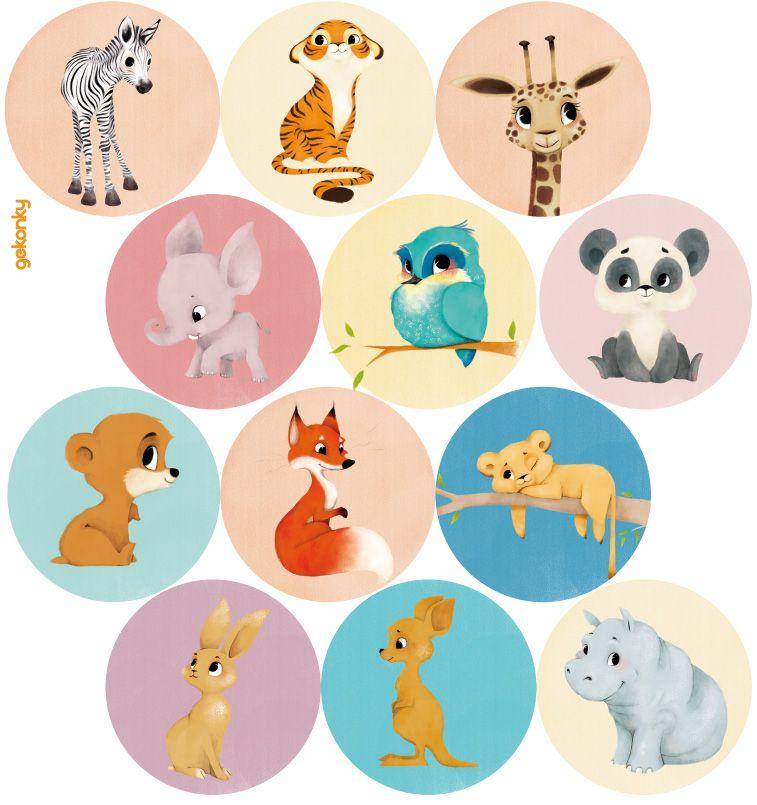 12 roztomilých zvířátek