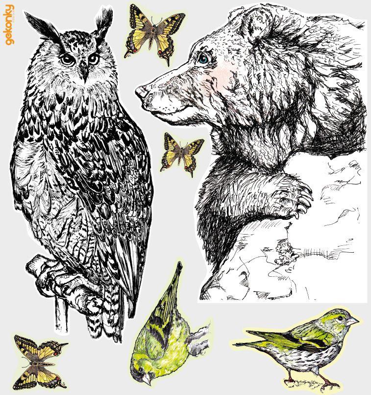Lesní zvířata II