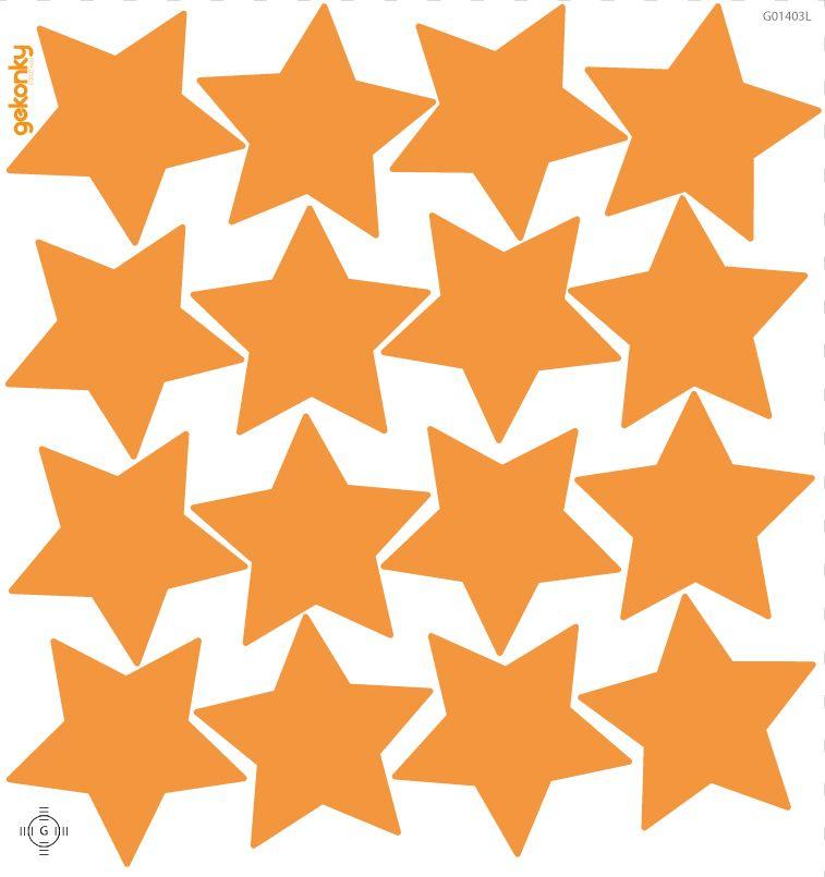 Hvězdy oranžové
