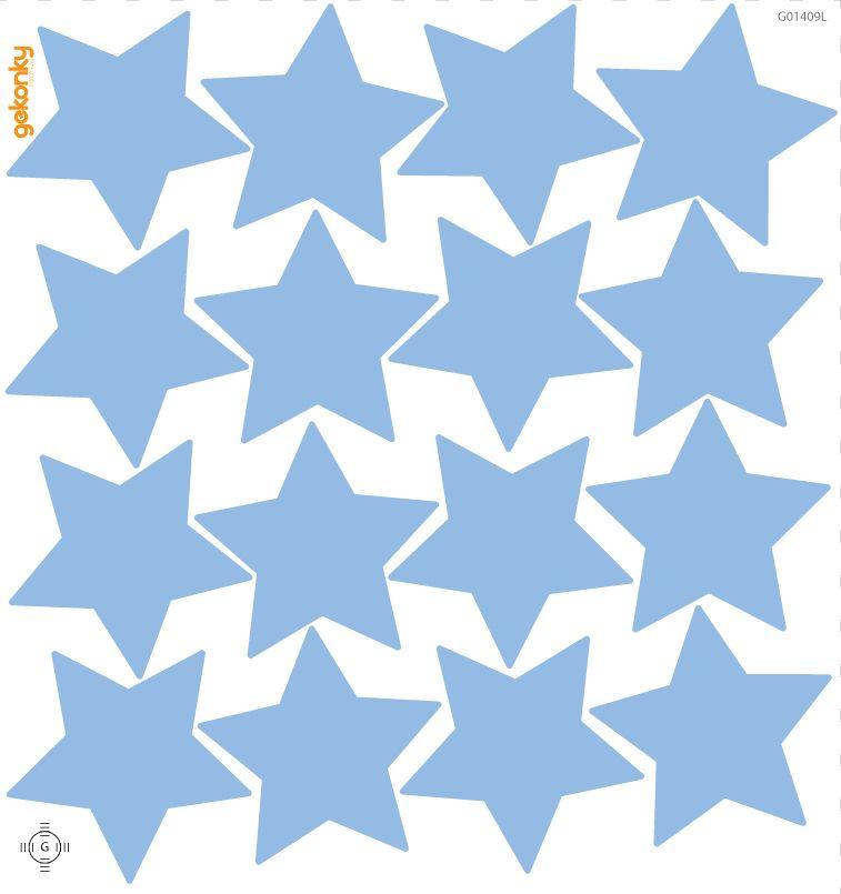 Hvězdy světle modré