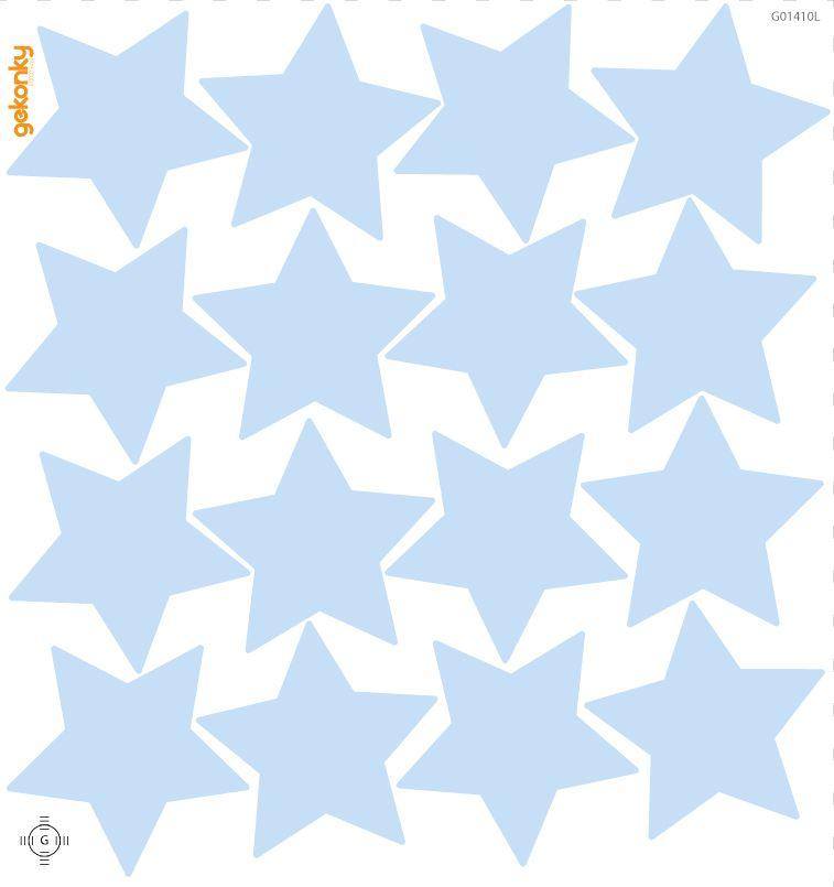 Hvězdy ledově modré