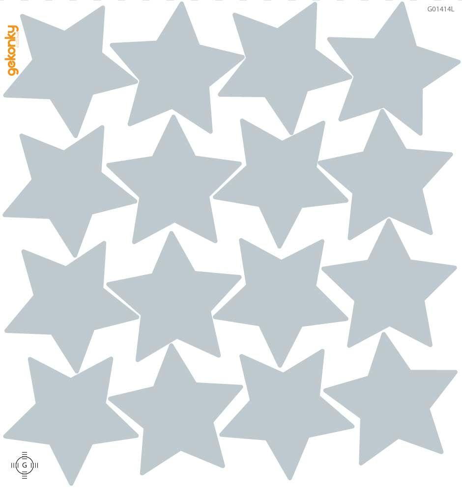 Hvězdy světle šedé