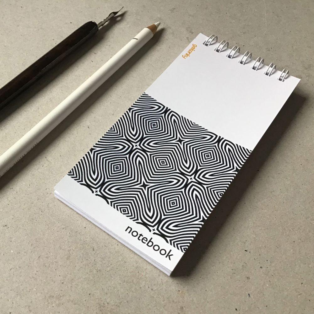 Opt-Art 01, kreativní bloček do ruky