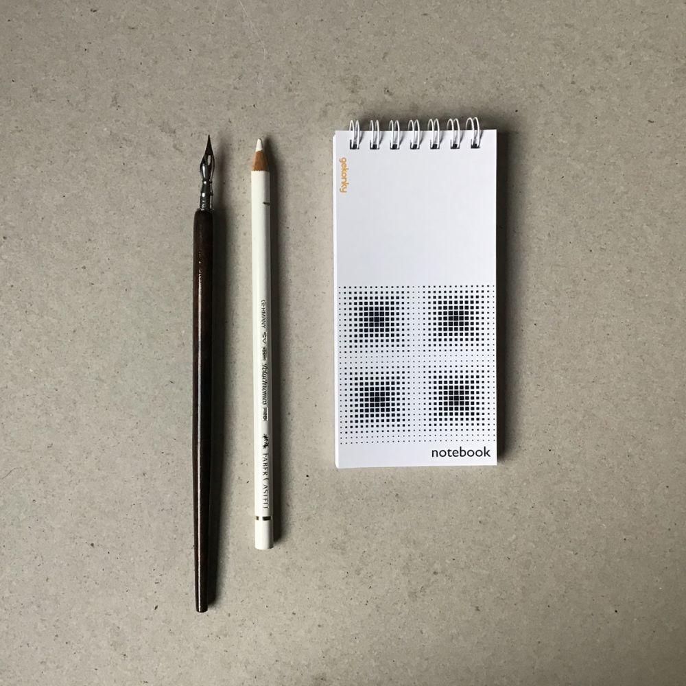OP-ART 02, kreativní bloček do ruky