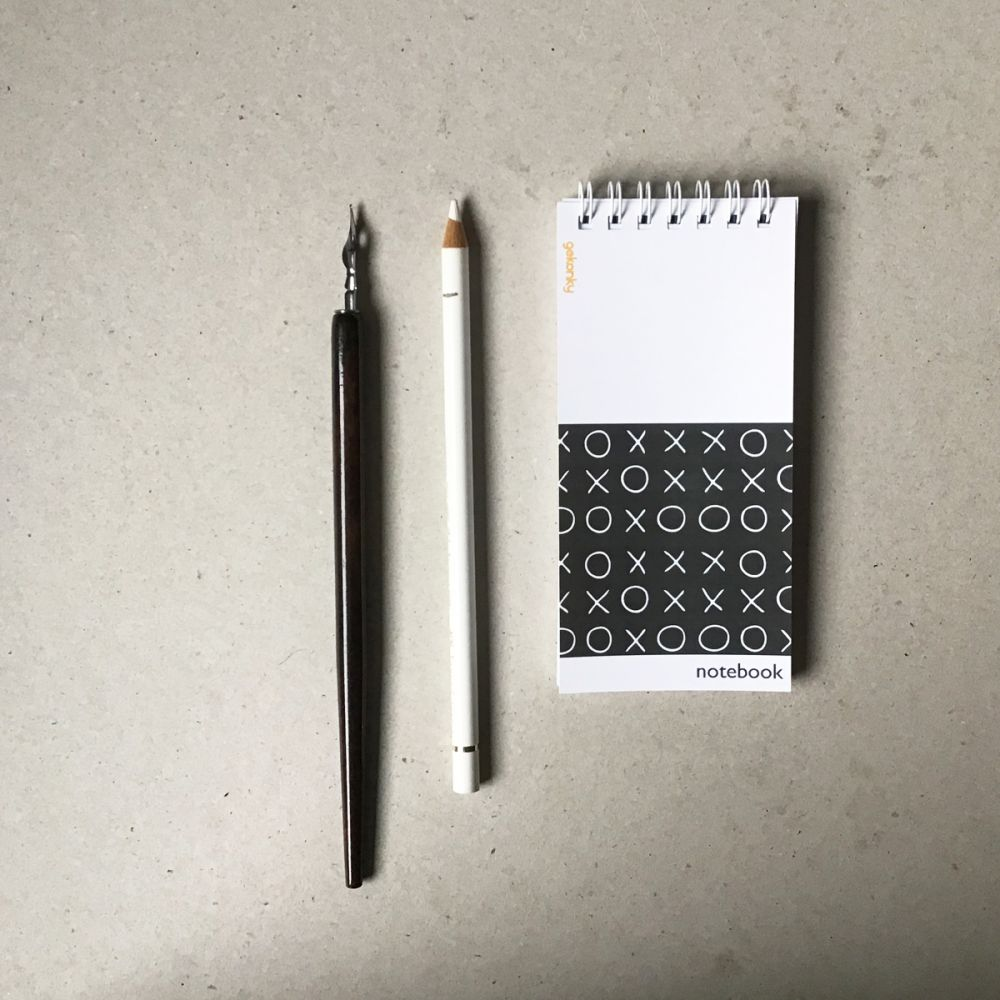 Piškvorky, kreativní bloček do ruky