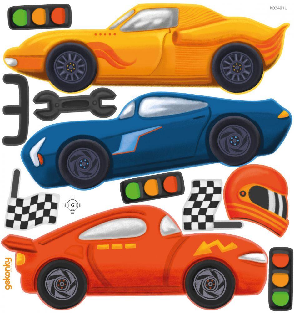 Závodní auta 1