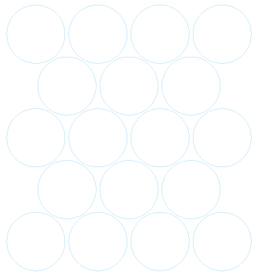 Kolečka 30x30 mm