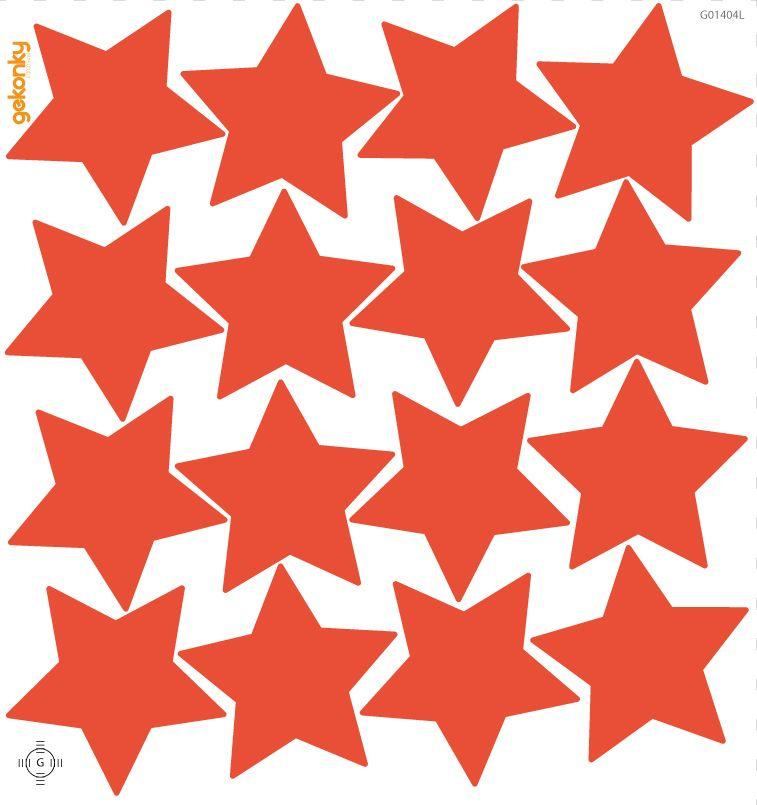 Hvězdy červené