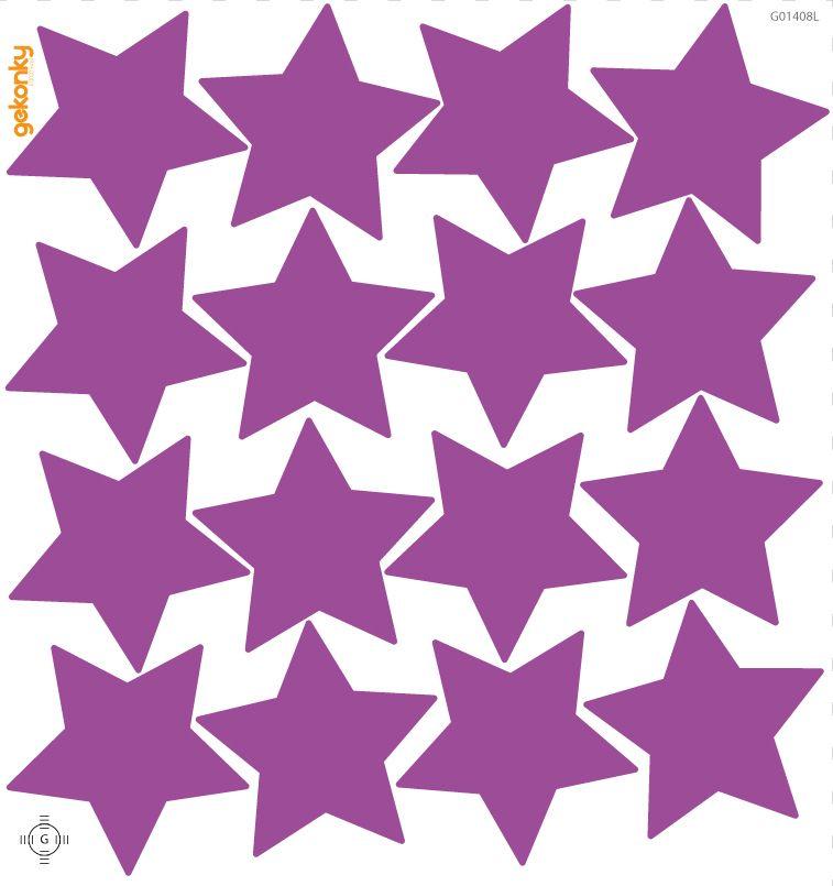 Hvězdy fialové