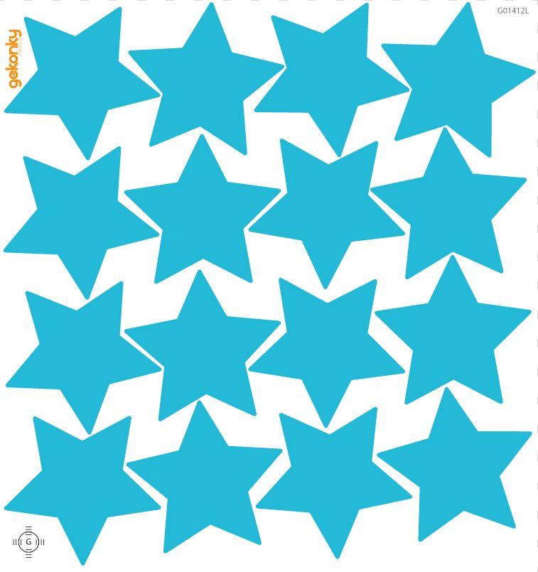 Hvězdy tyrkysové