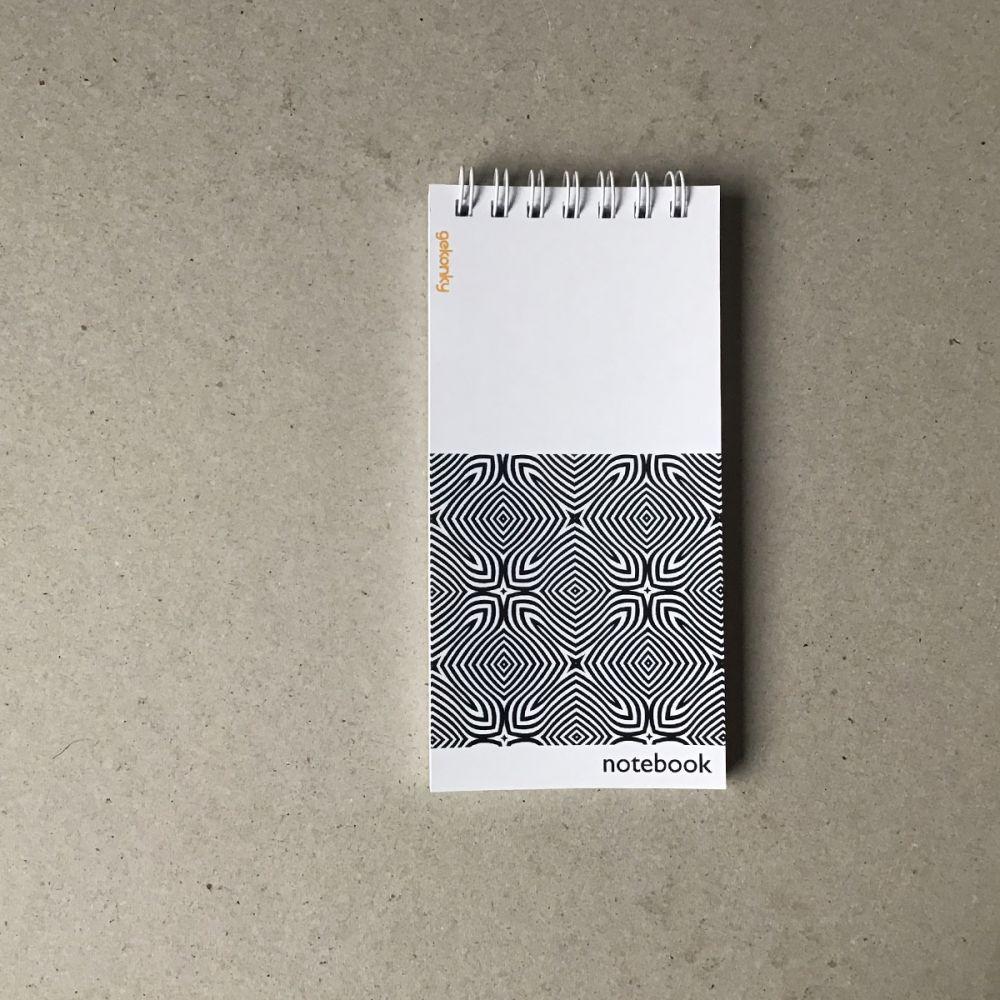 OP-ART 01, kreativní bloček do ruky