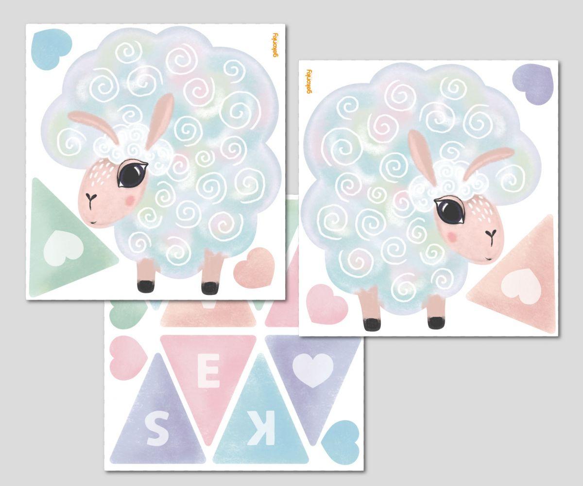Ovečky pro miminko: Jméno na přání