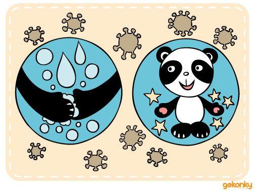 Gekonka: Myj si ruce